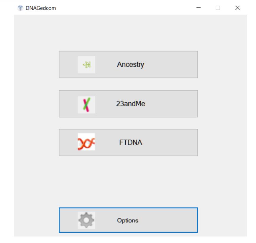 DNA Gedcom DNA companies