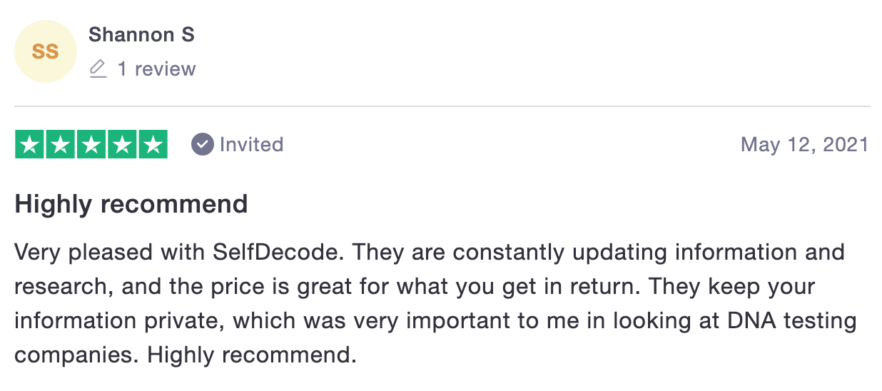 Review of SelfDecode Cost